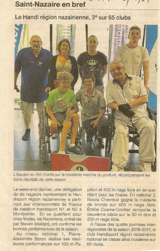 St Nazaire presse article natation.jpg