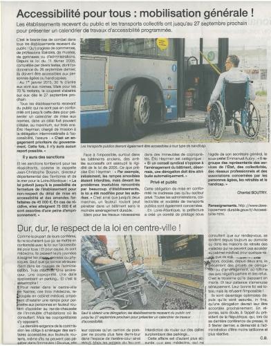 Original scanné Ouest France Loire Atlantique (Nantes) Chantal BOUTRY 10 Février 2015.jpg