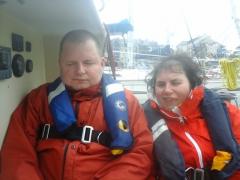 Ma ballade en mer en Voilier le 14 avril 16 dans le Golfe du Morbihan (5).jpg