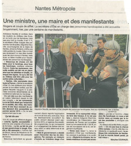 Article Ouest France 25.11.14.jpg